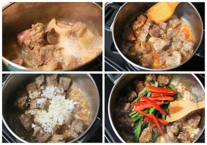 cerdo al jitomate deliciosa receta