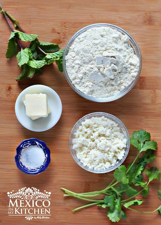 Bocoles, ingredientes necesarios