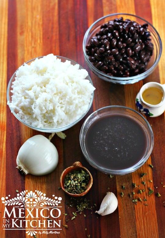 Moros con Cristianos, ingredientes para preparar la receta