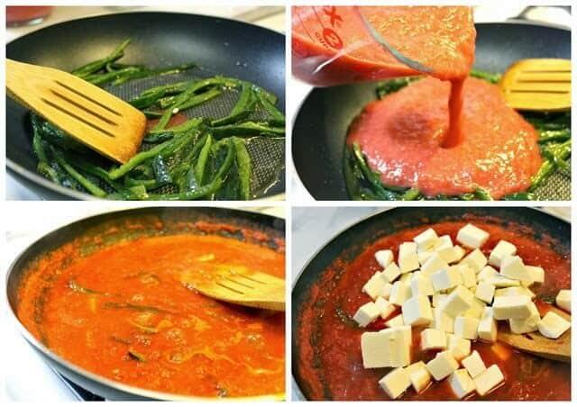 Queso en salsa, receta gratis