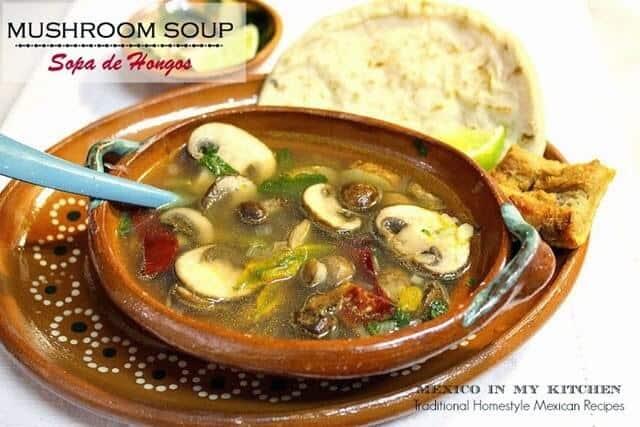Receta Sopa de Hongos