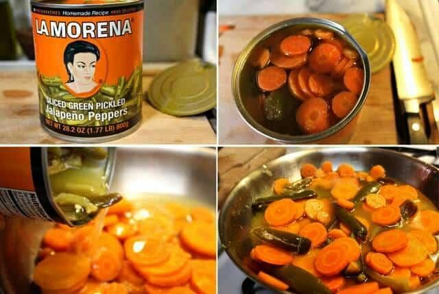 la receta mas fácil que encontraras de Zanahorias curtidas