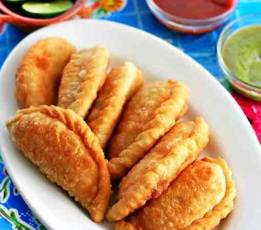 Receta Empanadas de Cangrejo
