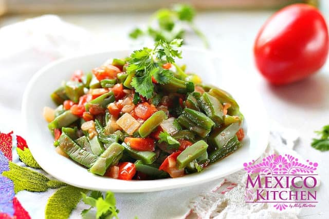 Cmo hacer Nopales a la Mexicana Recetas de comida mexicana