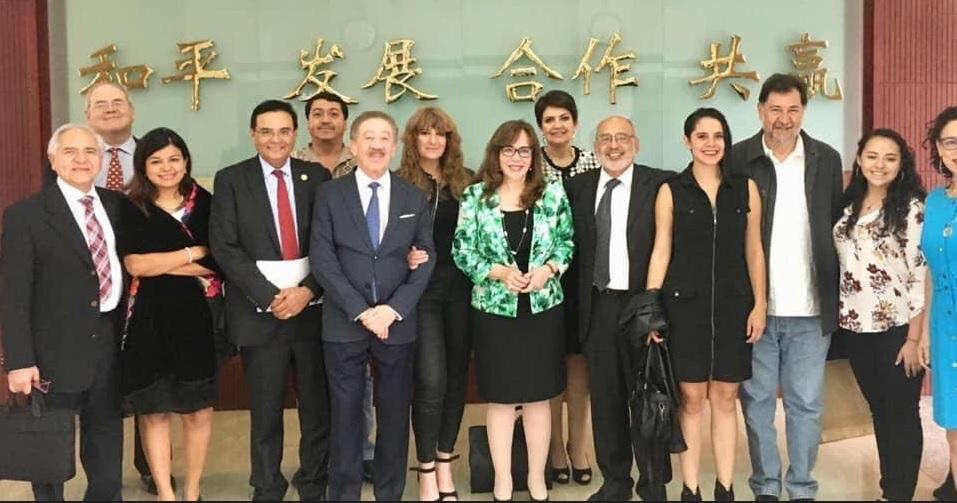 Viajan a China legisladores de MORENA y PT