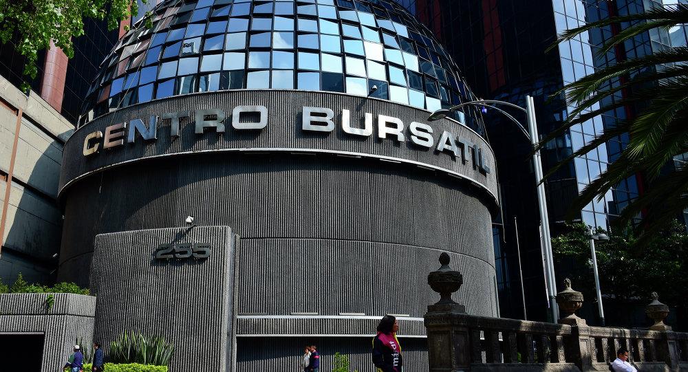 Bolsa Mexicana inicia jornada a la baja
