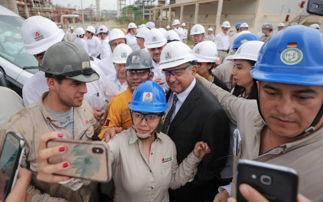 En dos años, rehabilitación de refinerías: López Obrador