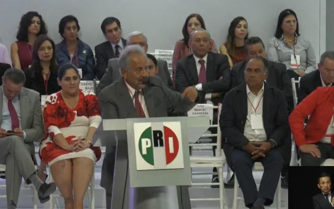 PRI realizará elecciones; eliminan al INE por caro