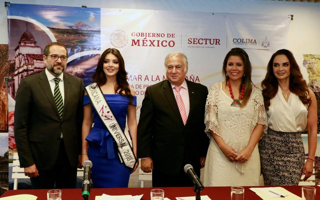 Presentan campaña de Colima «Del Mar a la Montaña»