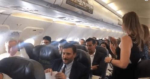 Falla aterrizaje vuelo donde viajaba AMLO y demora su llegada a Tepic