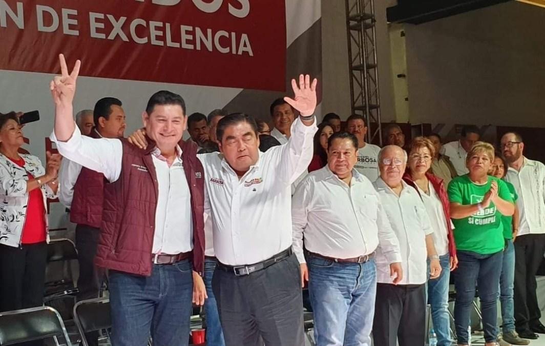 Con Barbosa, es tiempo de pensar en Puebla: Armenta