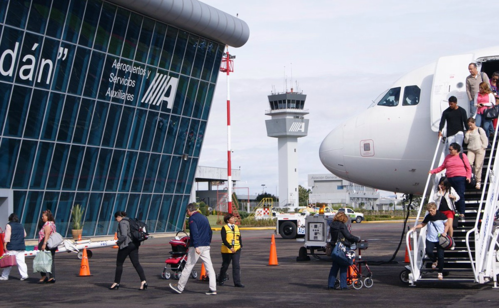 Crece 60.9 % atención de pasajeros en Aeropuertos de ASA