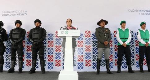 Sheinbaum presenta nuevo cuerpo de seguridad