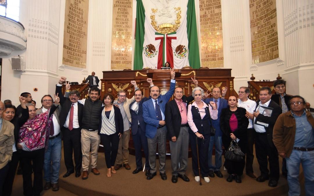 Congreso honra con letras de oro  «Mártires del 10 de junio 1971»