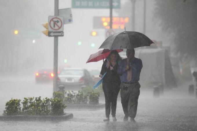 Se pronostican lluvias muy fuertes en ocho entidades