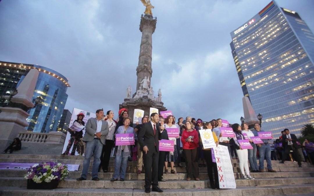 En El Angel, celebran inclusión de mujeres en decisiones de Estado