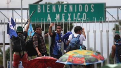 Regresa México a 110 hondureños que ingresaron irregular