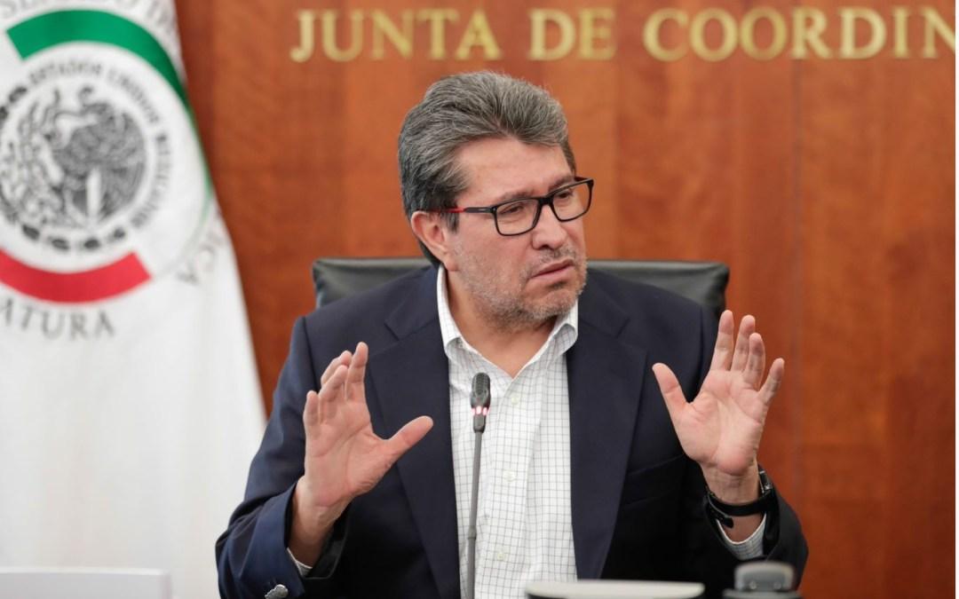 Llevará Monreal reformas a Constitución de Ley de  Amparo