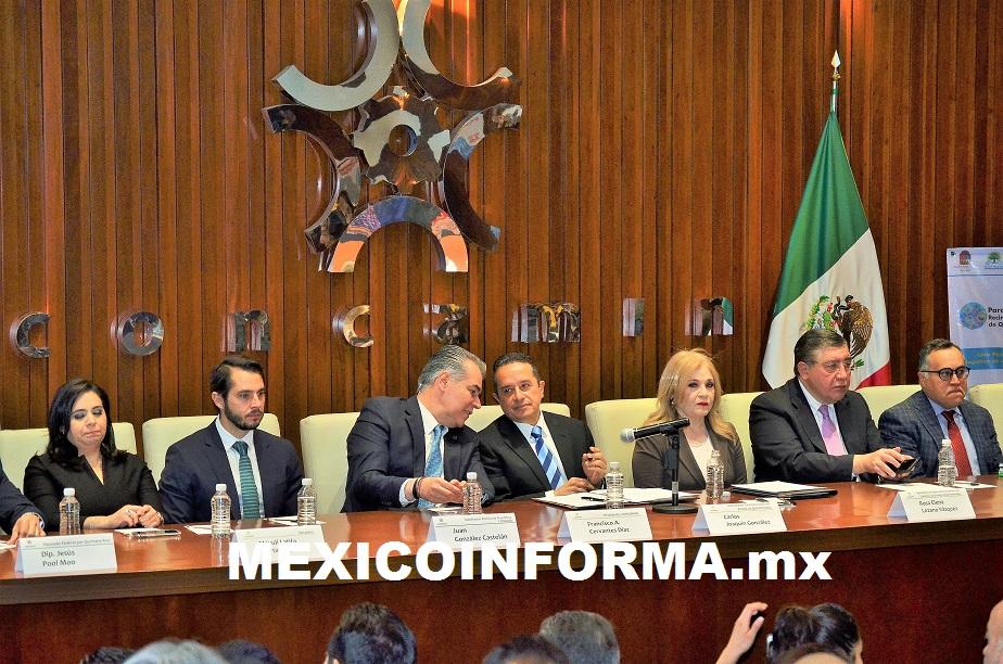 CCE y Concamín impulsan inversiones al Parque Industrial en Chetumal