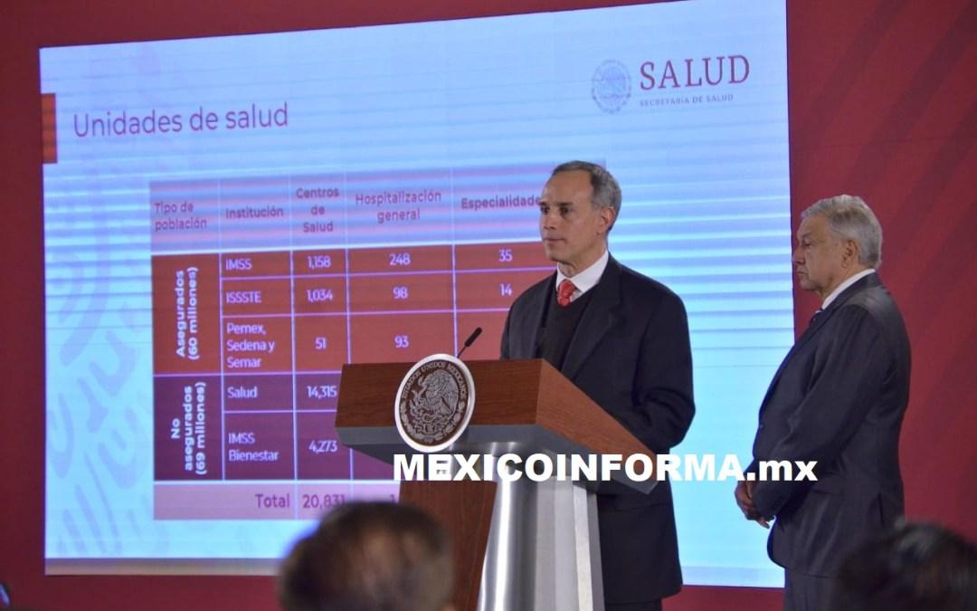 Sistema de Salud eficiente y equitativo, reitera AMLO al defender Insabi