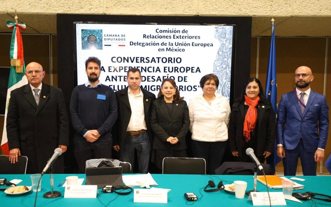 Experiencia europea en migración, oportunidad para avanzar en México: Morena