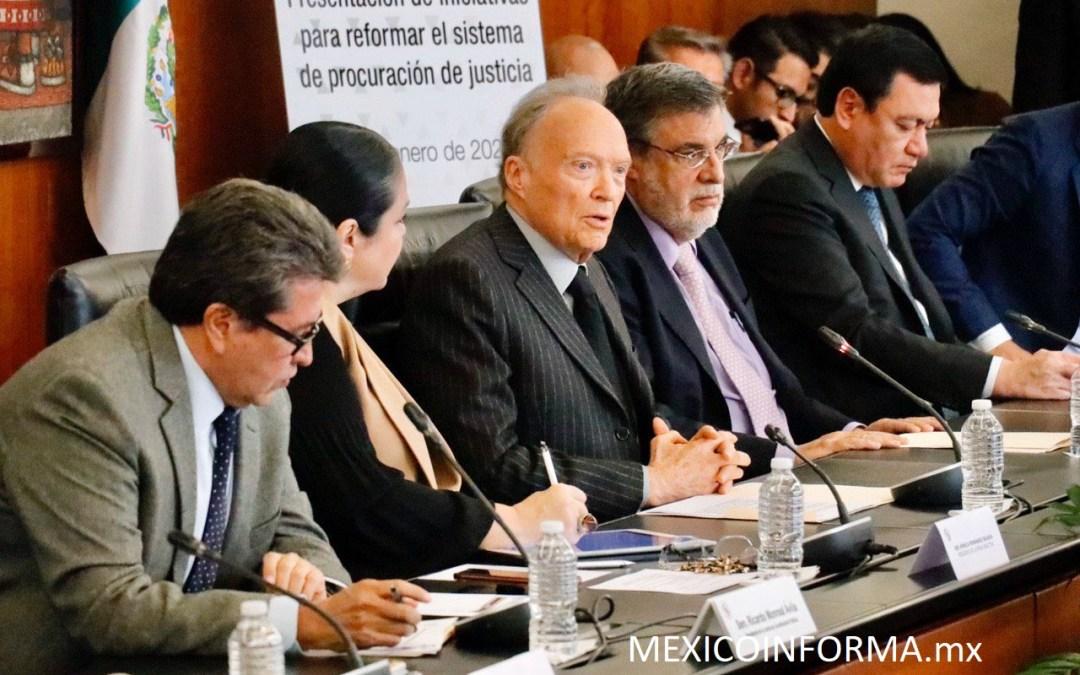 Presentan en Senado iniciativas para reformar el sistema de procuración de justicia