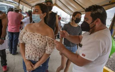 México ha tenido disponibles 111.4 millones de vacunas contra Covid