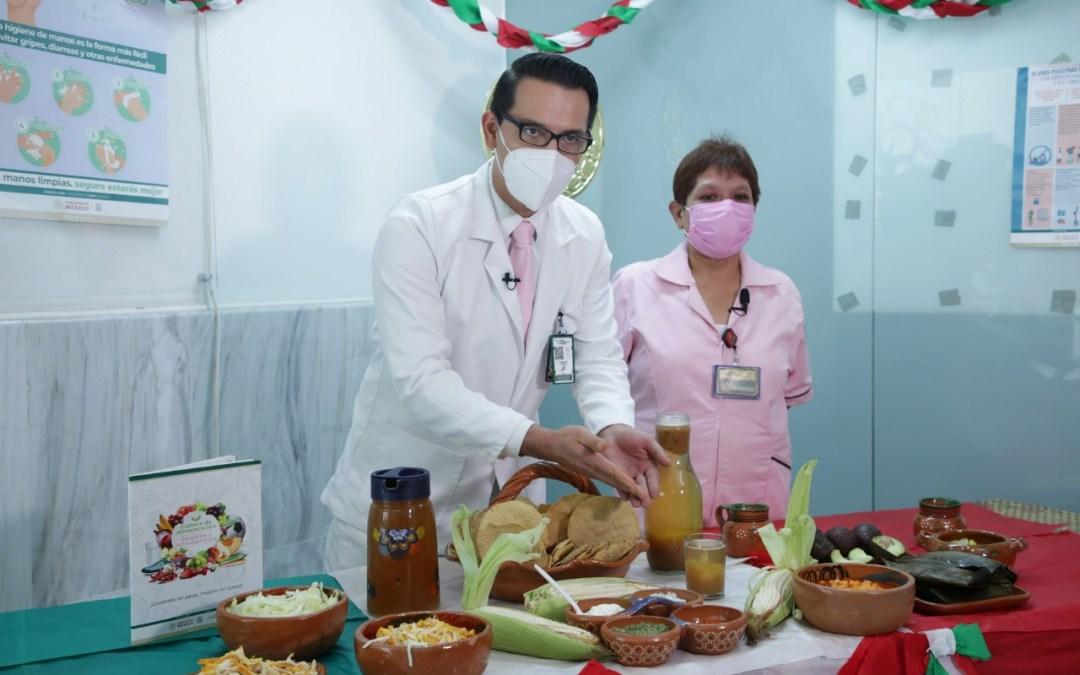 Celebrar fiestas patrias de forma saludable y con responsabilidad: IMSS