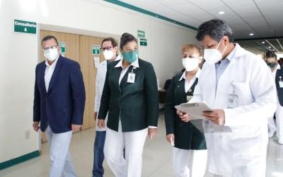 Garantiza IMSS atención integral a pacientes con COVID-19