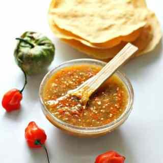 Habanero Tomatillo Salsa Recipe