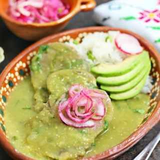Beef Tongue in Salsa Verde