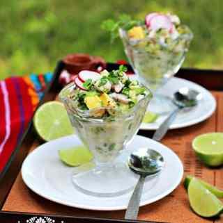 Ceviche Verde-Green Mexican Ceviche