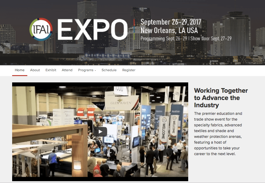 IFAI Expo Textile industry experts, manufacturers,