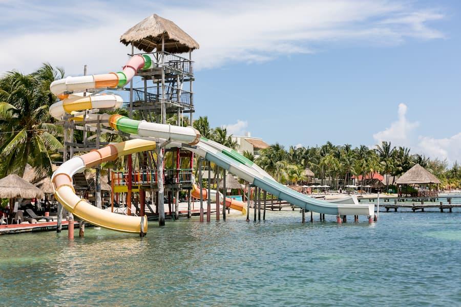 SAT Mexico tours and travel catamaran isla mujeres tour beach club