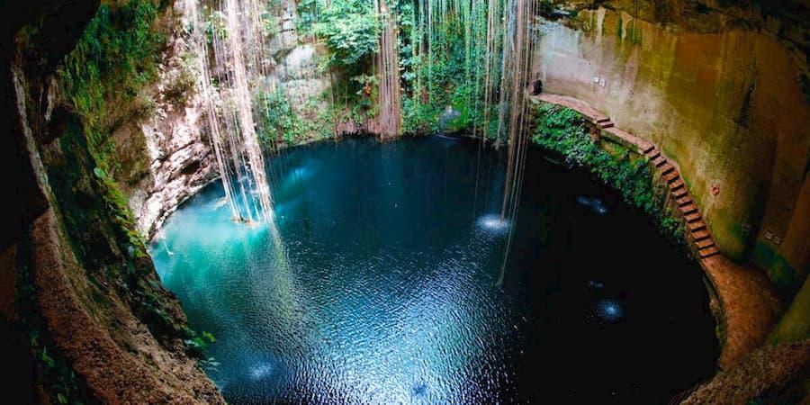 sat mexico tour chichen itza ik kil cenote valladolid