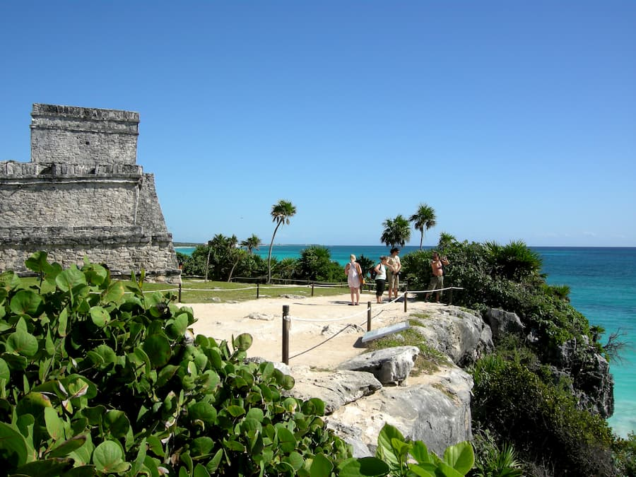 sat mexico tours and travel tulum ocen view