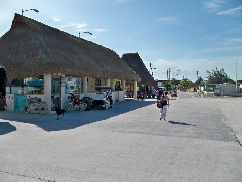 Isla Holbox muelle