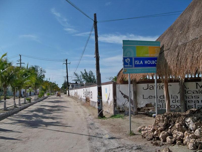 Isla Holbox street
