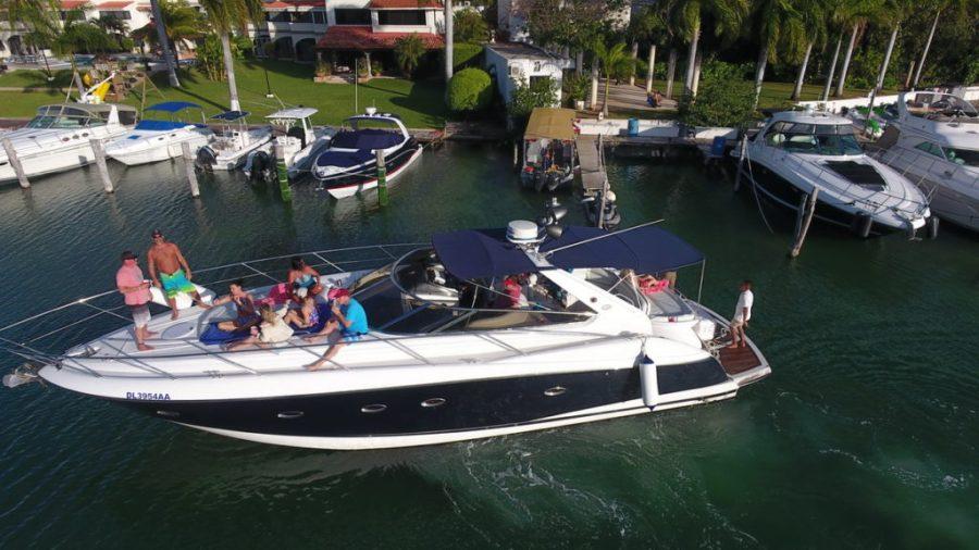 Sunseeker 50ft yacht