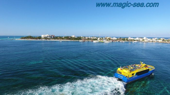 Ferry Shuttle Isla Mujeres Cancun