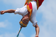 Watch the Famous Papantla Fliers