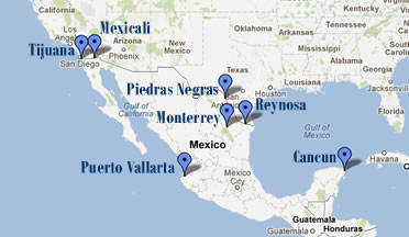 Bariatric Surgery Experts Locations in Mexico
