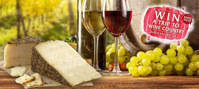 Stella Cheese -Napa Valley Wine Country Contest!