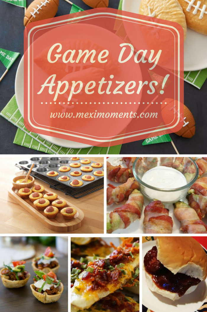 Game Day Appetizers!