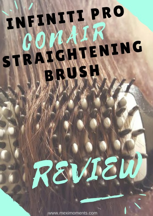 Infiniti Pro Conair Straightening Brush Review
