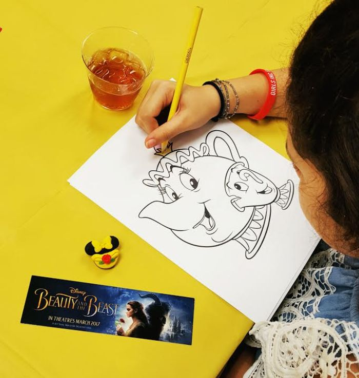 Mommy & Daughter Day - Beauty and the Beast Tea Party
