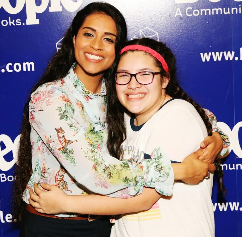 My Daughter met Lilly Singh!