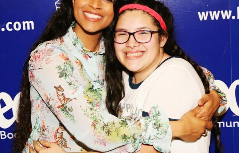 My Daughter met Lilly Singh!