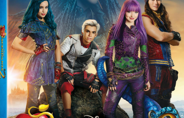 Disney Descendants 2 DVD Giveaway!