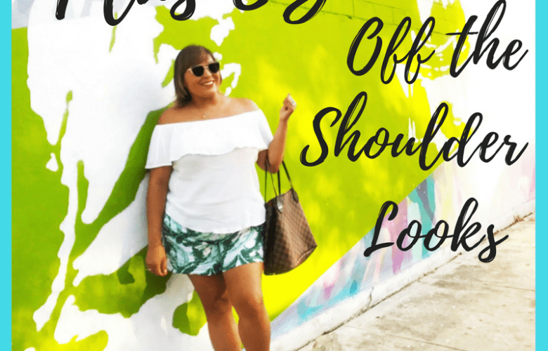 Plus Size Off The Shoulder Looks!